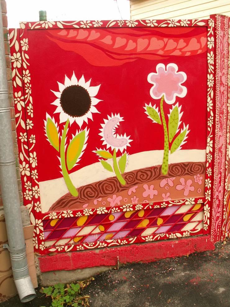 Роспись предметов и малых форм эмалевыми красками.: Окна и двери в . Автор – Наталья Дубовая Charman-design