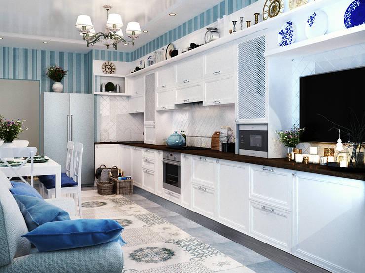 Дизайн кухни: Ар Деко, неоклассика или современный стиль? : Кухни в . Автор – Студия дизайна Interior Design IDEAS