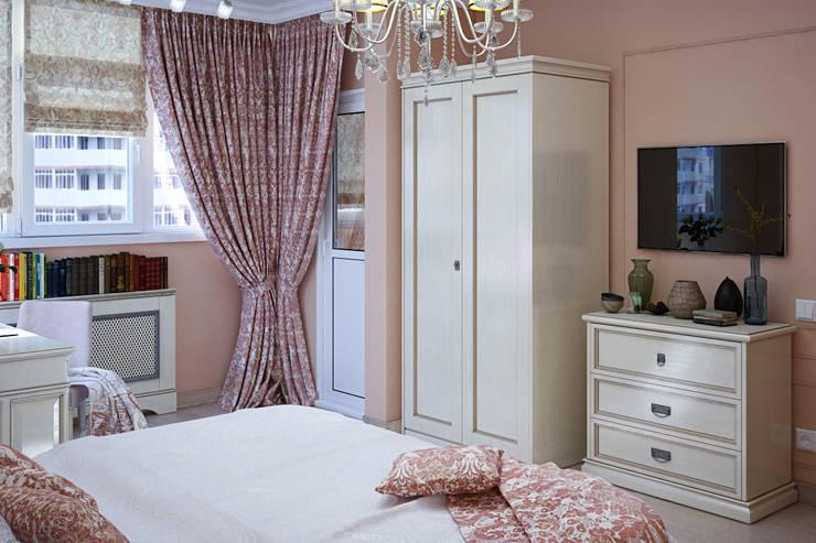 Спальня в стиле неоклассики: Спальни в . Автор – Студия дизайна Interior Design IDEAS