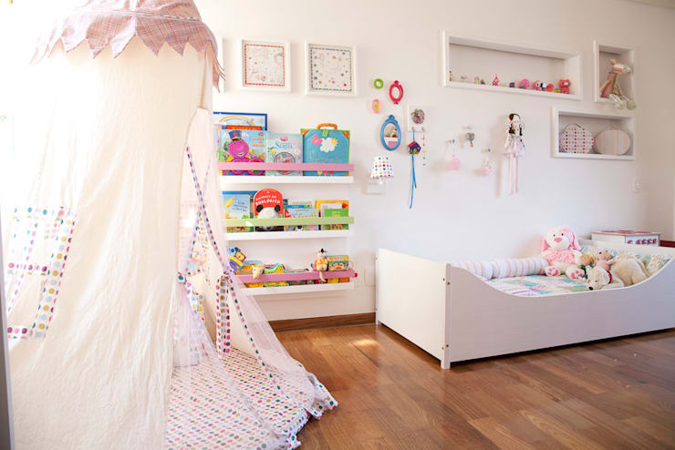 Nursery/kid's room by Asenne Arquitetura, Eclectic