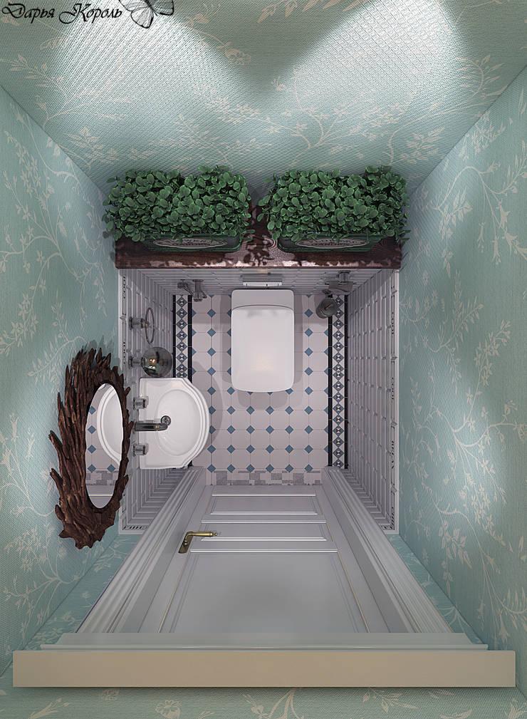 Guest WC: Ванные комнаты в . Автор – Your royal design