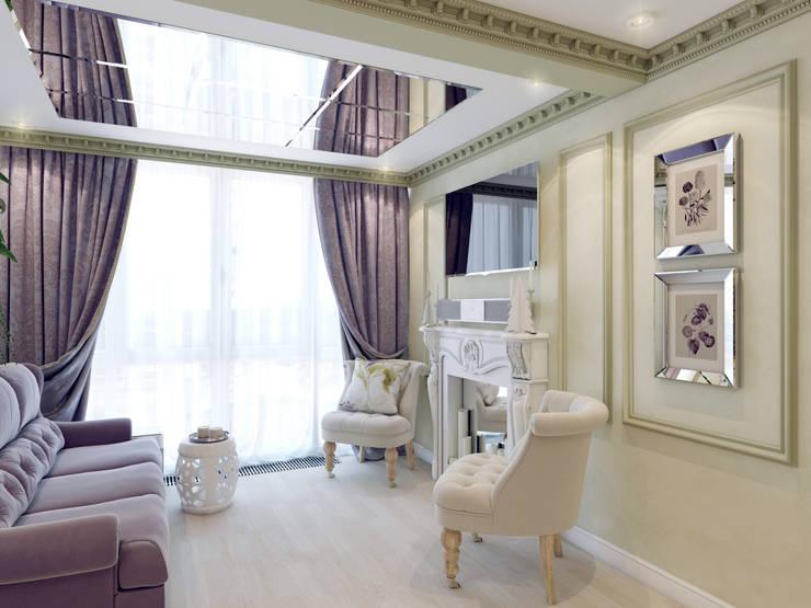 Living room by Volkovs studio