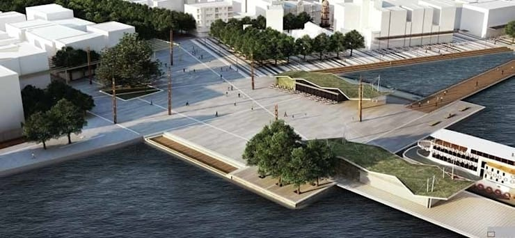 The City - The Square - The Deck by ON TASARIM LTD. ŞTi.