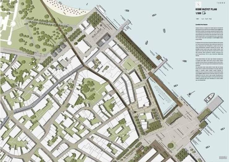 Partial site plan – the urban square by ON TASARIM LTD. ŞTi.