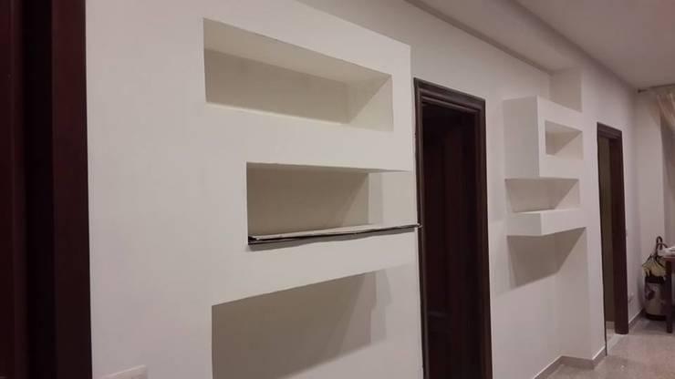 Corridor & hallway by piano a