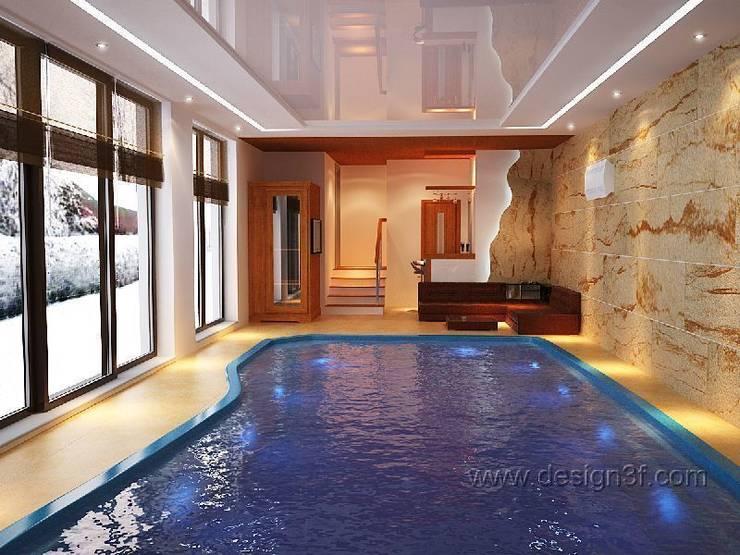 бассейн: Бассейн в . Автор – студия Design3F