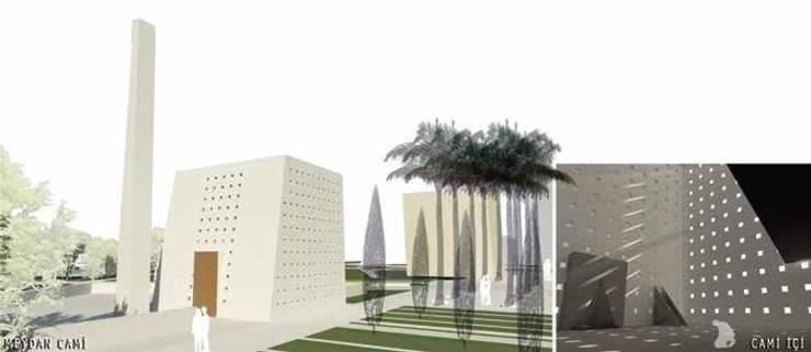 ON TASARIM LTD. ŞTi. – Meydan Camii çevresi ve içi:  tarz