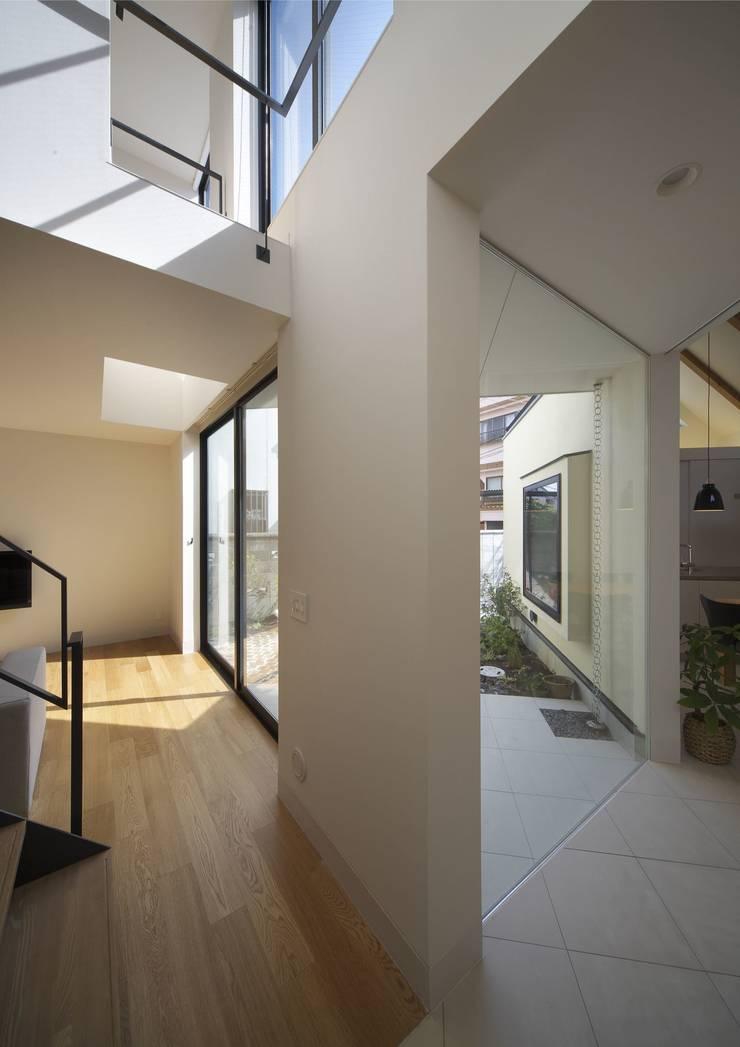 寝屋川の家 Huse of Neyagawa: 林泰介建築研究所が手掛けた庭です。