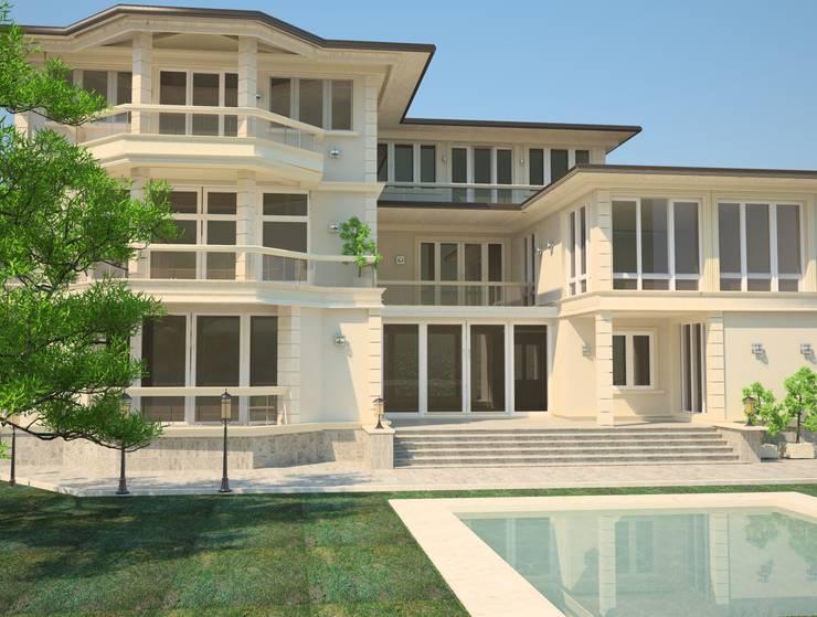 Проекты домов:  в . Автор – DS Fresco