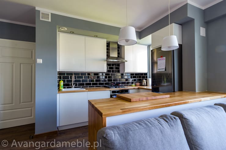 Cozinha  por Sebastian Germak - Avangarda Meble