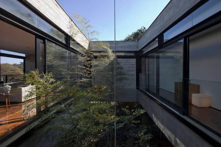 Casa | LM |: Jardins de inverno modernos por Marcos Bertoldi