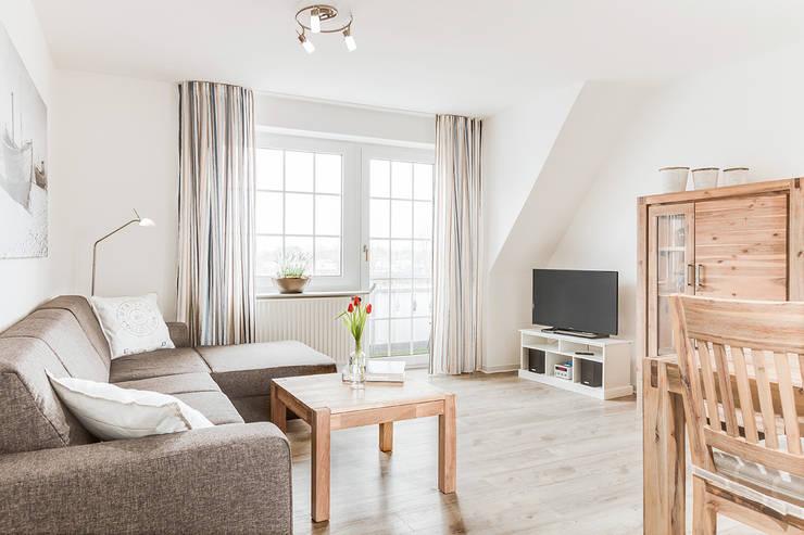Wohnzimmer Ferienwohnung:  Hotels von Marschland Media & Arts
