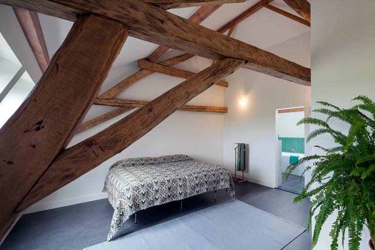 slaapkamer eerste verdieping, foto: Scagliola Brakkee:   door bijvoet architectuur & stadsontwerp