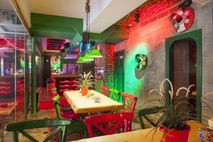 NTG Mimarlık – Ranchero Nişantaşı 2:  tarz Yemek Odası
