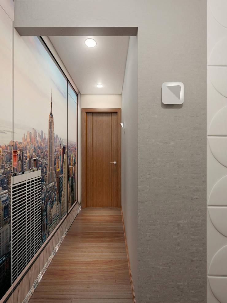Дизайн-проект интерьера коридора.: Коридор и прихожая в . Автор – ИнтеРИВ