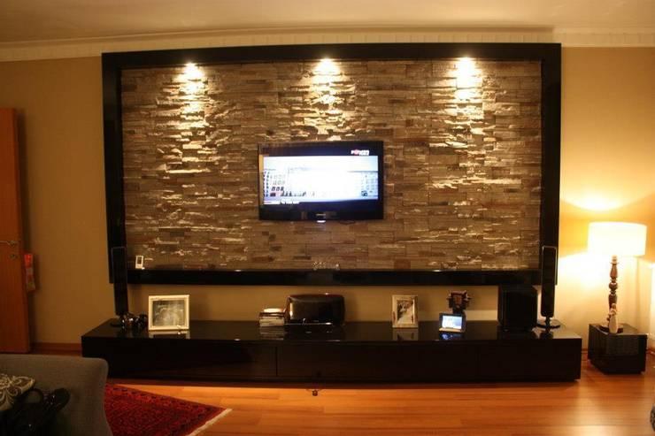 NTG Mimarlık – Akkaya's Family Home :  tarz Oturma Odası