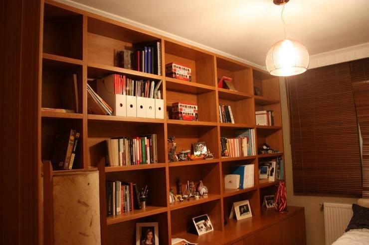 NTG Mimarlık – Akkaya's Family Home :  tarz Multimedya Odası