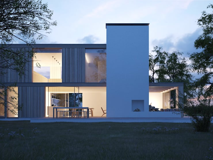 Woodpeckers:  Houses by Strom Architects