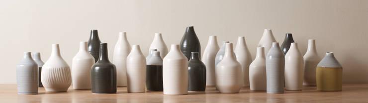 Morandi bottles:  Artwork by Linda Bloomfield