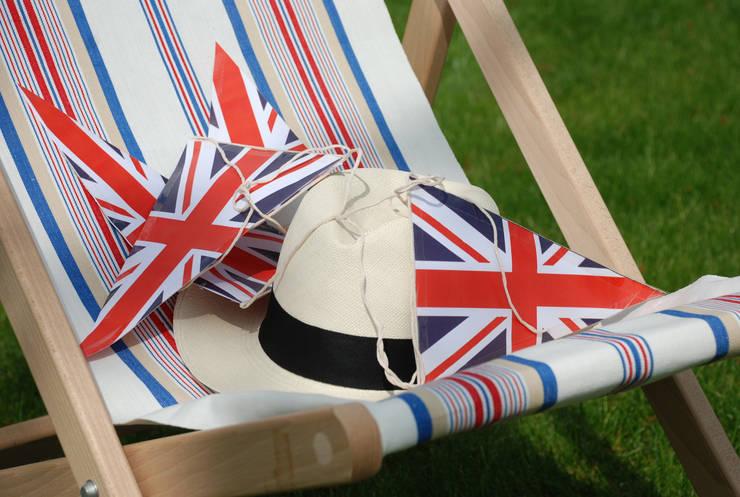 Great British Deck Chair:  Garden  by Hen and Hammock