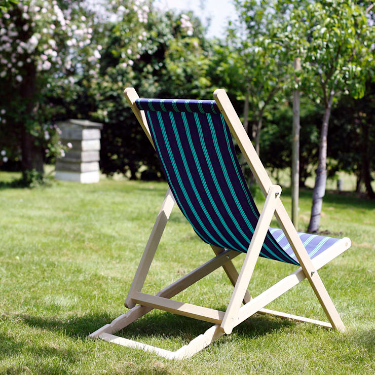 Regatta Deckchair:  Garden  by Hen and Hammock