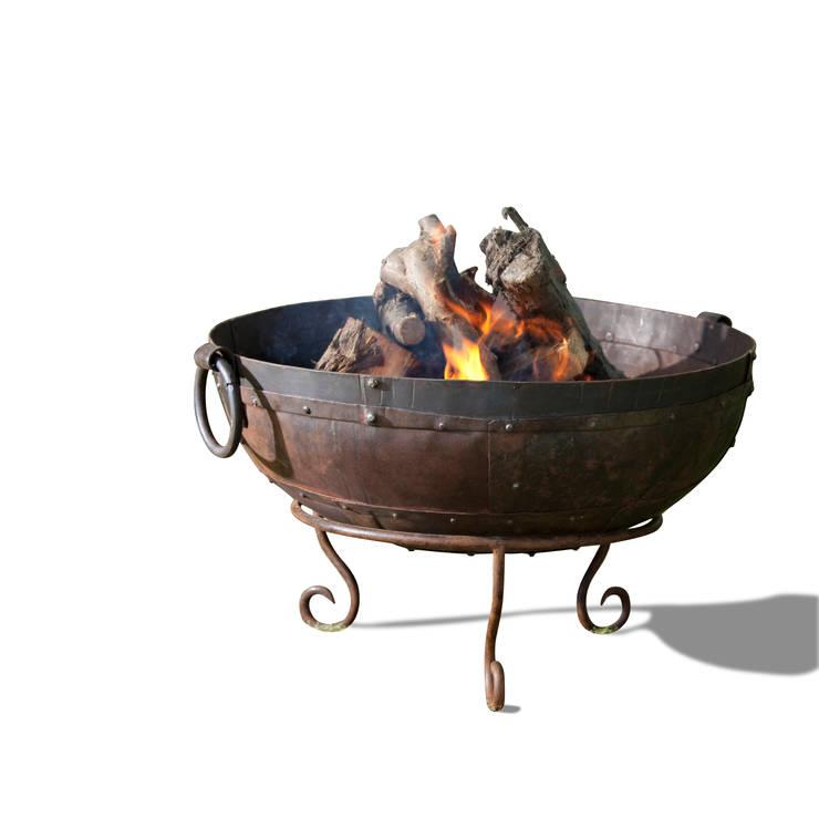 Fire bowl:  Garden  by Hen and Hammock