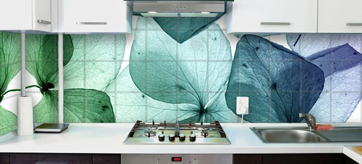 Paredes y pisos de estilo moderno por Tile Fire Ltd.