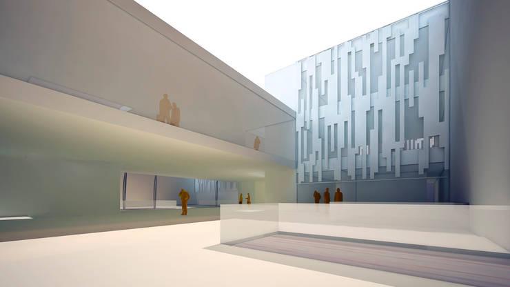 Biblioteca Pública: Escuelas de estilo  de GodoyArquitectos
