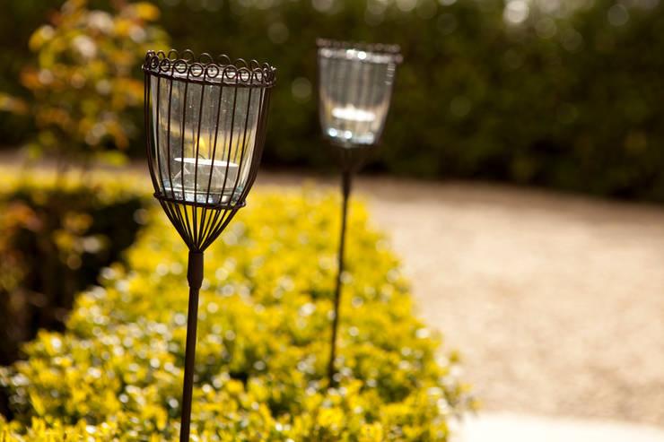 Indian Garden Lanterns:  Garden  by Hen and Hammock