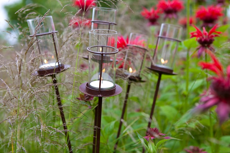 Garden Party Lantern:  Garden  by Hen and Hammock
