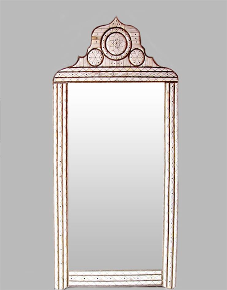 Moroccan Mirror:  Dressing room by Moroccan Bazaar