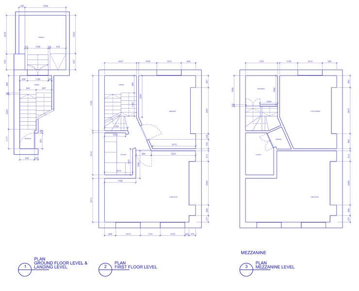 Peponi House - Original Plan Layout:   by STUDIO [D] TALE