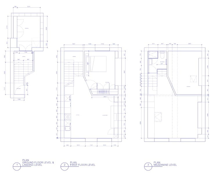 Peponi House - Proposed Plan Layout:   by STUDIO [D] TALE