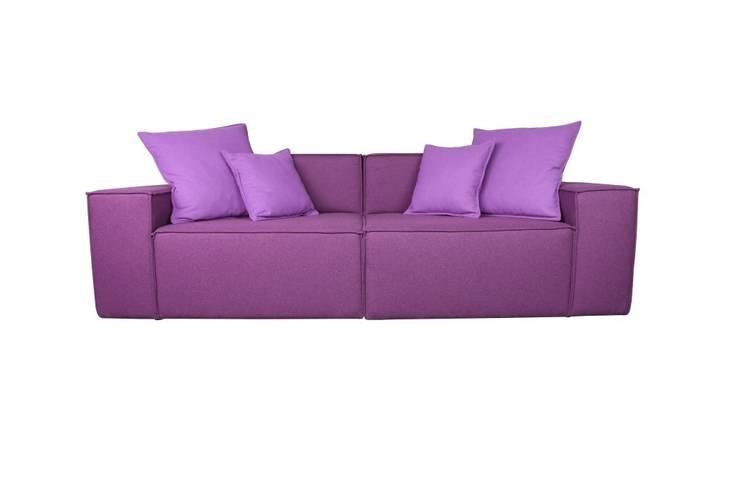 Sofa BOX: styl , w kategorii Salon zaprojektowany przez Stylhen
