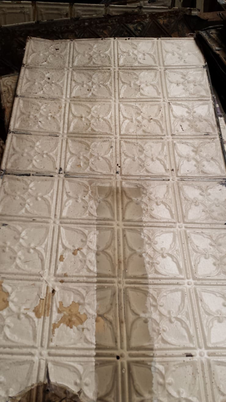 Original Vintage Tin ceiling Tiles:  Bars & clubs by Tramps (UK) Ltd