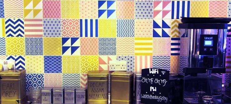 Colour Pattern Tiles:  Gastronomy by Tile Fire Ltd.