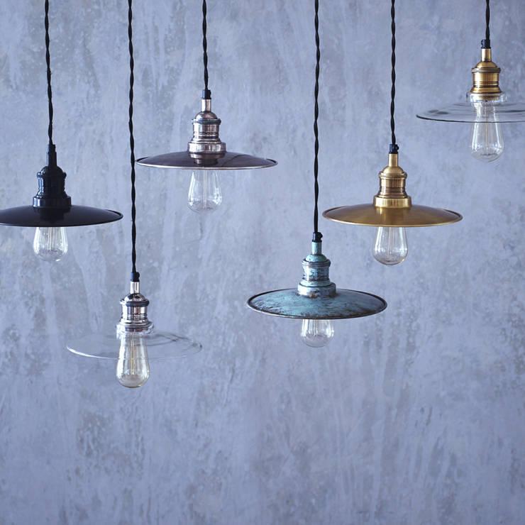 Fowey Pendant Light:  Dining room by Rowen & Wren