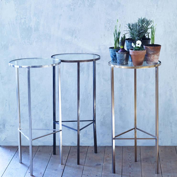 Phebe Side Table:  Living room by Rowen & Wren