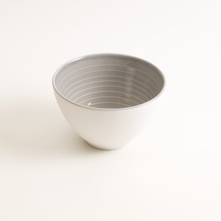 Tactile porcelain bowl:  Dining room by Linda Bloomfield