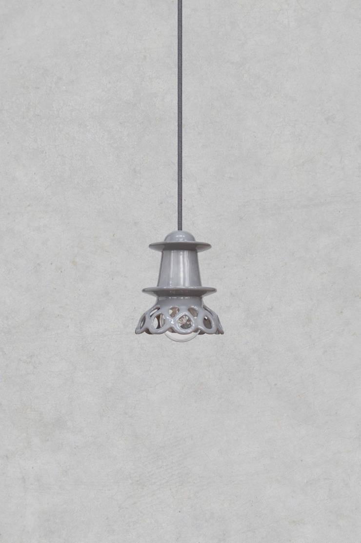 NENU: styl , w kategorii Jadalnia zaprojektowany przez Grześkiewicz Design Studio Oświetlenie