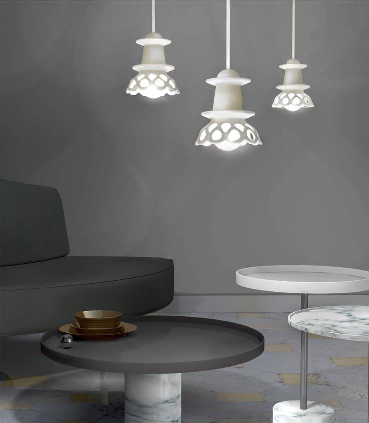 NENU: styl , w kategorii Bary i kluby zaprojektowany przez Grześkiewicz Design Studio Oświetlenie