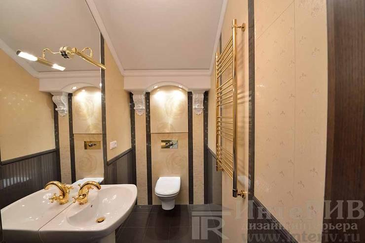 Дизайн-проект интерьера санузла.: Ванные комнаты в . Автор – ИнтеРИВ