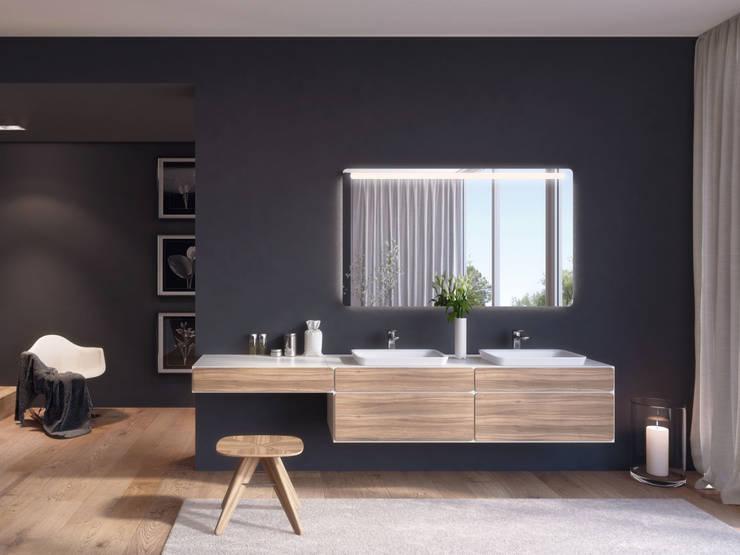 talsee mood mit beauty desk:  Badezimmer von StauffacherBenz