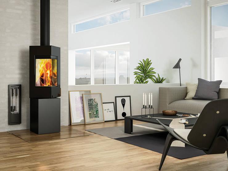 Attika Q-Be:  Wohnzimmer von StauffacherBenz