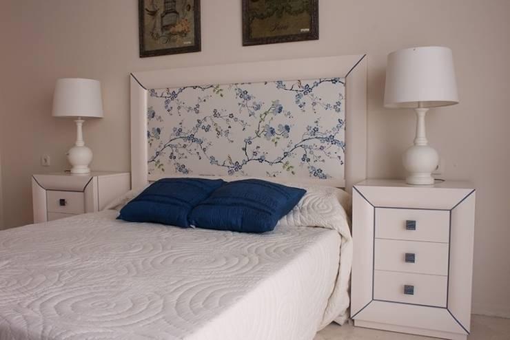 Muestrario de muebles para el hogar: Dormitorios de estilo  de Muebles Sarria