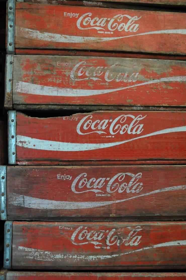 Coke crates:  Household by Tramps (UK) Ltd