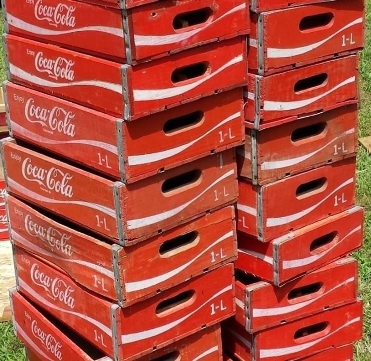 Coke crate, Original vintage crates:  Household by Tramps (UK) Ltd