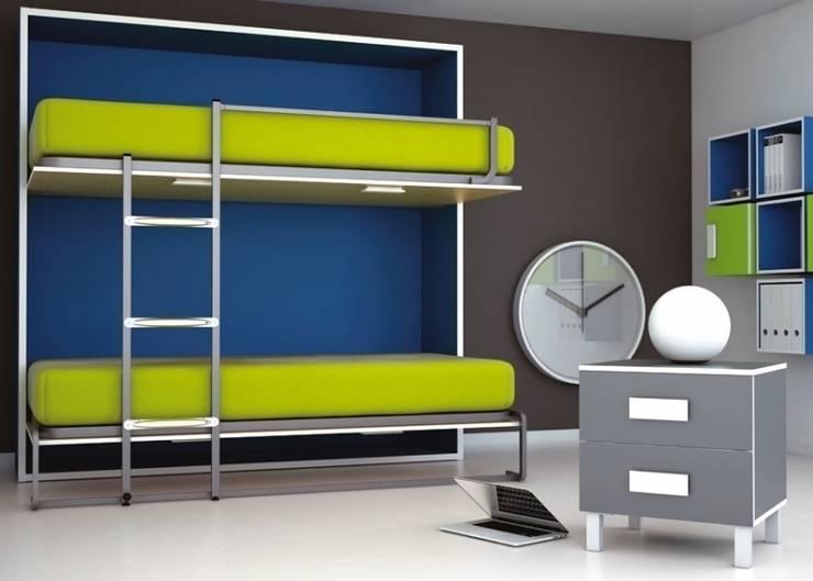 Dormitorios infantiles  de estilo  por Muebles Sarria