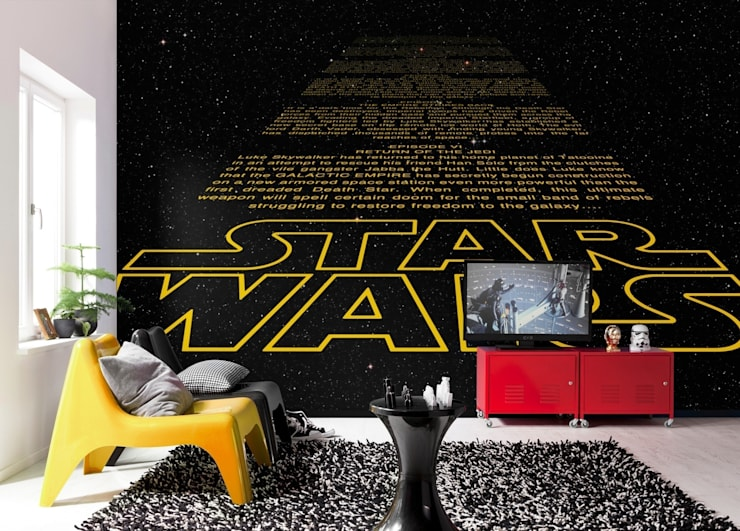 Star Wars Photomural 'Intro' ref 8-487:  Walls & flooring by Paper Moon
