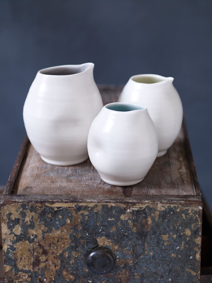 Dimpled jugs:  Kitchen by Linda Bloomfield